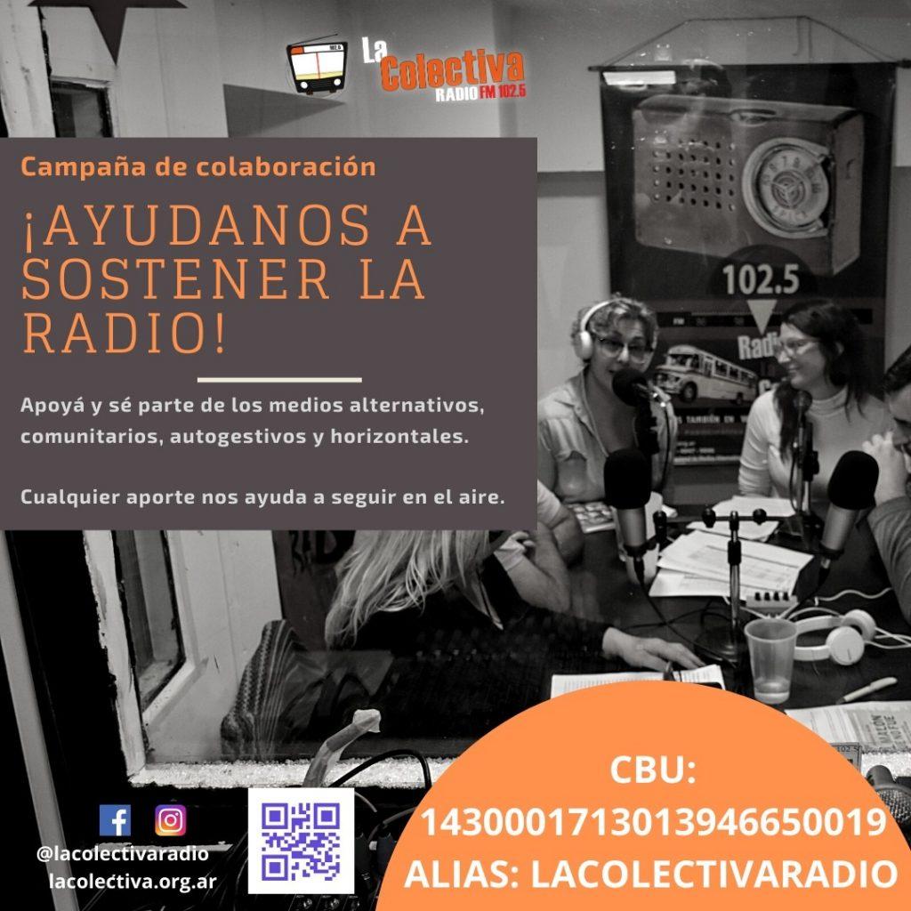 Ayudanos a Sostener La Radio